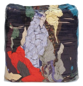 Buffalo Industries 10 lb. Recycled Cloth Rag in Multi-Color BUF10083PB