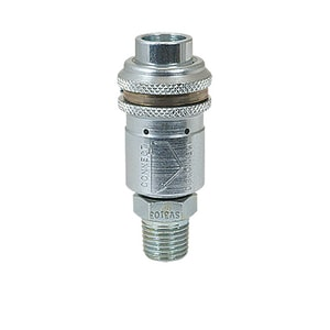 Foster Manufacturing 3 Series 1/4 in. MPT x Socket Foster Quick Disconnect Safety Coupling FSV3103