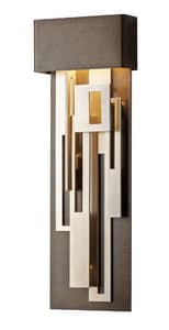 Hubbardton Forge Collage 16W 1-Light LED Sconce in Bronze H2054321001
