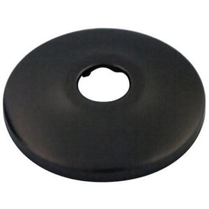 Signature Hardware Sure Grip 5/8 in. Stainless Steel Shallow Box Escutcheon in Oil Rubbed Bronze SH271ORB