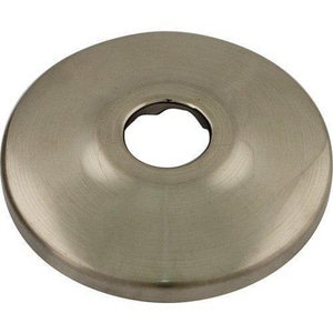 Signature Hardware Sure Grip 5/8 in. Stainless Steel Shallow Box Escutcheon in Nickel SH271BN