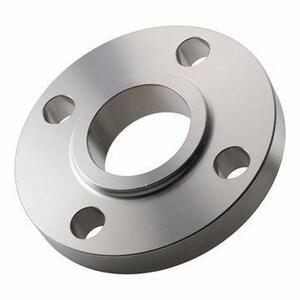Merit Manufacturing 8 x 4 in. Slip-On 150# Flat Face Carbon Steel Flange M42080040