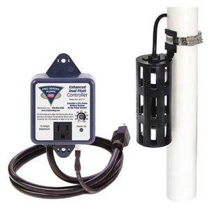Glentronics Enhanced Controller and Dual Float Switch for S5 Series Sump Pump GDFC15