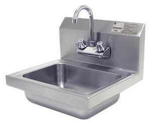 Advance Tabco Wall Mount Hand Sink in Stainless Steel A7PSEC