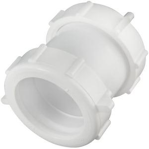 Norton McMurray 1 x 1-1/8 in. IPS x OD Reducing Plastic Coupling N406ALA01