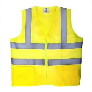 Majestic Glove M-Safe L Size Safety Vest in Yellow M753225