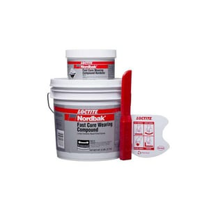 Loctite Nordbak® 6 lb. Fast Cure Wearing Compound L235599