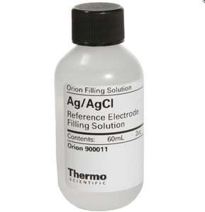 Thermo Fisher Scientific Orion™ 60ml pH Electrode Filling Solution for Orion pH Electrodes and Reference Electrodes 5 Pack T900011