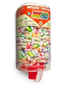 Moldex-Metric Foam and Plastic Disposable Ear Plugs in Multi-color M6645 at Pollardwater