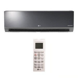 LG Electronics Art Cool™ 18.2 MBH Single-Zone Wall Mount Indoor 1.5 Ton Mini-Split Air Conditioner LGLAN0HYV2