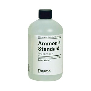 Thermo Fisher Scientific Orion™ 475ml 100 PPM Ammonia Nitrogen Standard for Orion Ammonia Ion Selective Electrode T951207 at Pollardwater