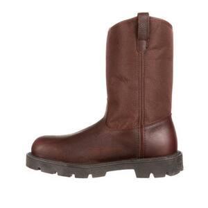 Rocky Brands Size 11.5 Men's Medium Steel Toe Boot RG111115M