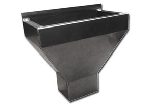 Roof Top Metal Products 3 x 4 in. Leader Head RLH34