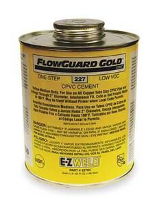 E-Z Weld 32 oz. CPVC Medium Bodied Solvent Cement E22704