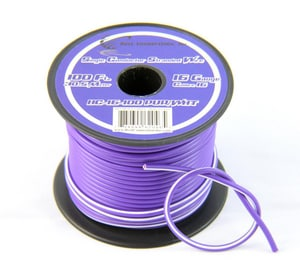Copperhead Industries 500 ft. 10 ga Copper Tracer Wire in Purple C1030PSF500
