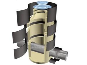 Garlock Riser-Wrap® 11 in. Riser Wrap for Manhole PRISERWRAPROLL11
