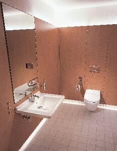 Duravit Starck 3 Wall Mount Bathroom Sink in White Alpin D0309600000