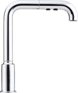 Kohler Purist® 1.5 gpm 1 Hole Deck Mount Kitchen Faucet with Single Lever Handle in Polished Chrome K7505-CP