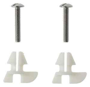 Kohler Toilet Seat Bolts.Kohler Toilet Seat Hardware Pack Metal Bolts And Plastic
