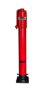 IP16 Model 8A 36-39/50 in. 16 ft 6 in - 19 ft 6 in Indicator Post AFCIP168ADIOL