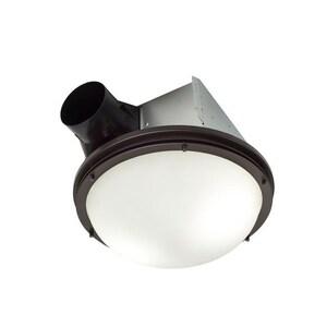 Broan Nutone Invent™ Series 43.1W 2-Light 80 cfm Celling Fan Light in Oil Rubbed Bronze BARN80RB