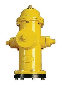 American Flow Control-Acipco American Darling® B-84-B Yellow 5 ft. Mechanical Joint Assembled Fire Hydrant AFCB84BINDY5STZ