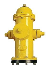 American Flow Control-Acipco American Darling® B-84-B Yellow 5 ft. Mechanical Joint Assembled Fire Hydrant AFCB84BINDY