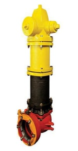 American Flow Control-Acipco Waterous® Trend 3 ft. 6 in. Mechanical Joint Assembled Fire Hydrant AFCH475WB77L036DDP