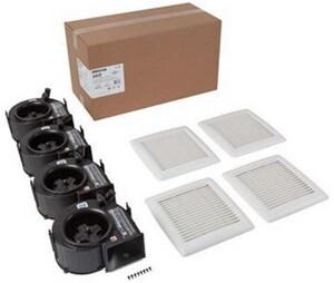 Broan InVent™ Series 9-1/4 in. 110 cfm Fan Housing Pack NAN110HF