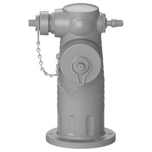James Jones Company J-4000 Triton® Series Threaded 4 x 2-1/2 in. Assembled Fire Hydrant JJ4040CPLSD