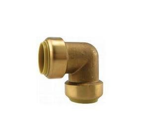 Boshart Industries 3/4 in. Push Brass 90 Degree Elbow BBPFE07NL
