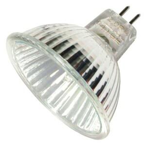 Halco Lighting Corporation 20W MR16 Dimmable Halogen Light Bulb with GU5.3 Base HMR16ESXLSC