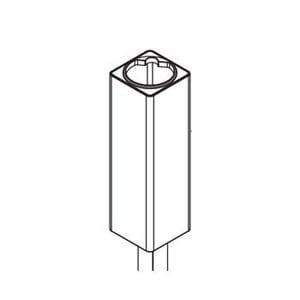 Moen 2 in. Vessel 90 Degree Extension Kit in Brushed Nickel M147556