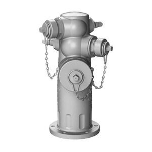 J-4000 Triton® Series 8 ft. 4-1/2 x 2-1/2 in. Assembled Fire Hydrant JJ40608H