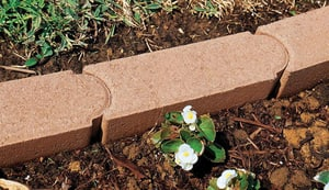 Anchor Block Company Edgestone™ 4 x 12 x 4 in. Concrete Paver in Brown A14200258