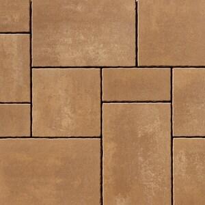 Anchor Block Company Rinn™ Medino® 2-3/4 x 20-5/8 x 13-3/4 in. Concrete Paver in Latte Macchiato 3-Piece A10154753