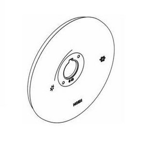 Moen 90 Degree™ Escutcheon and Gasket Kit in Brushed Nickel M147574BN