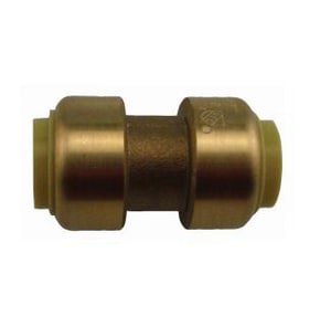 Boshart Industries 1/2 in. Copper x CPVC Quick Connect Insert Brass Straight Coupling BBPFCNL
