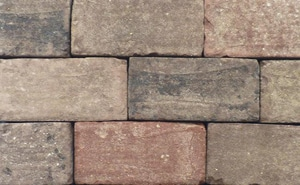Anchor Block Company XL™ 3 x 18 x 13 in. Concrete Wall Paver in Ironstone A16057143