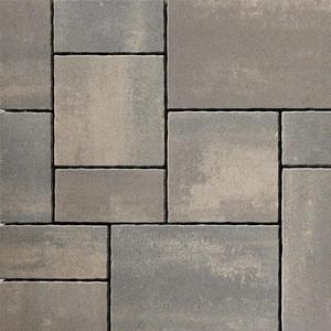 Anchor Block Company Rinn™ Medino® 2-3/4 x 20-5/8 x 13-3/4 in. Concrete Paver in Beluga Grey 3-Piece A10154752