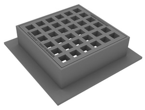 Christy Concrete Products 6 in. Concrete Catch Basin Top Section CU21ST6