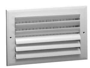 Grille Tech 12 x 12 in. Ceiling & Sidewall Register in Sky White 2-way Aluminum GCL2M1212
