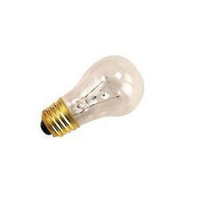 Halco Lighting Corporation 15W A15 Dimmable Incandescent Light Bulb with Medium Base HA15CL15
