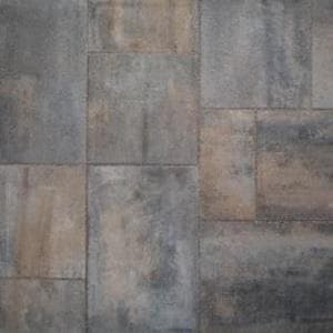 Anchor Block Company Moduline Series™ 2-3/8 x 12 x 12 in. Concrete Paver in Cotswold Mist A10990567