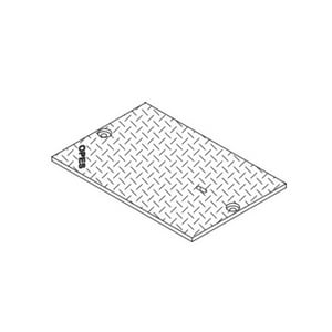 Christy Concrete Products 33-1/4 in. Blank Cover CB173051JH