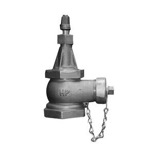 James Jones Company J-3700 Series Bronze Hydrants FIP x Hose 4 x 2-1/2 in. Cap JJ344PL