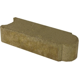 Anchor Block Company Edgestone™ 4 x 12 x 4 in. Concrete Paver in Cambray Tan A14200259