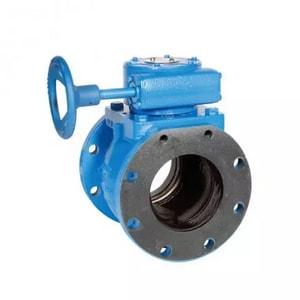 Ballcentric® 8 in. Cast Iron 175 psi Flanged Gear Operator W/Handwheel Plug Valve HFPVLGHWX