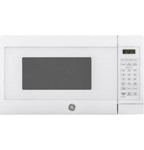 GE Appliances 9.3A 0.7 cf Countertop Microwave in White GJES1072DMWW