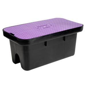 Carson Industries Meter Box with Lid in Purple C14196026